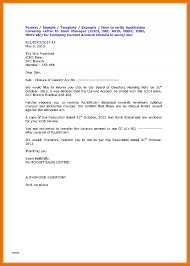 Request Letter Of Bank Statement beautiful request letter format for bank statement