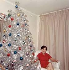 vintage aluminum christmas tree 31 mid century women with aluminum christmas trees tiphero
