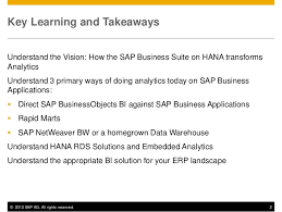 Business Intelligence Vision Statement Exles by Business Intelligence For Erp Customers Covers Sap Erp Oracle E Bu