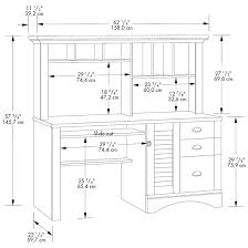 sauder harbor view computer desk and hutch sauder harbor view computer desk with hutch salt oak harbor view