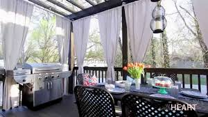 Sunbrella Curtains With Grommets by Outdoor Patio Curtains 9 Best Dining Room Furniture Sets Tables