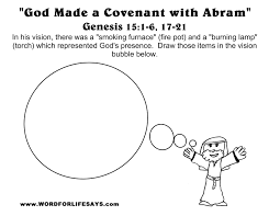 god made a covenant with abram u201d sunday lesson summary and