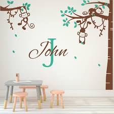 Nursery Monkey Wall Decals Popular Monkey Decal Buy Cheap Monkey Decal Lots From China Monkey