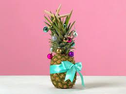 Latest Christmas Tree Decorations How To Make A Pineapple Christmas Tree Coastal Living