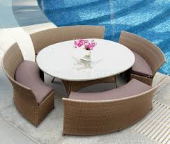 Glass Top Patio Dining Table Endearing Oval Outdoor Dining Sets Wicker Forever Patio Leona 84