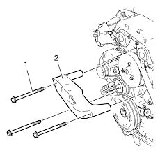 repair instructions off vehicle engine mount bracket removal