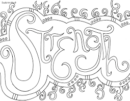 word coloring pages doodle art alley coloring pinterest