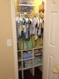 Baby S Closet I Like This Baby U0027s Closet Thought Of Doing Something Similar On