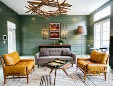 green livingroom green living room ideas decorating hgtv