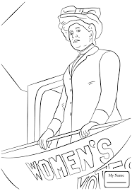 Famous People Divacoloringpages Com Eleanor Roosevelt Coloring Pages