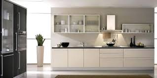 Stainless Steel Frosted Glass Cabinet Doors With Stainless Steel - Kitchen cabinets with frosted glass doors
