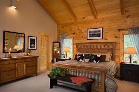 interior of log homes park vista master bedroom best kitchen design