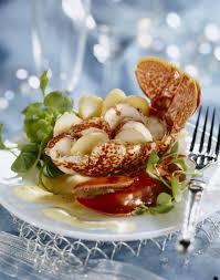 homard cuisine salade de homard et pourpier et émulsion citronnée cuisine