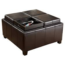 mason tray top storage ottoman espresso christopher knight home