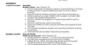 Child Care Worker Resume Sample by Babysitter Resumes Resume Babysitter Resume Format Download Pdf