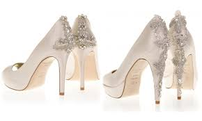 wedding shoes toronto jewelled bridal shoes the wedding opera