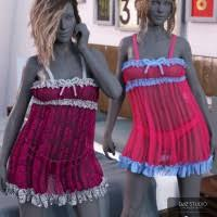 sleepwear for genesis 8 s 3d models and 3d software by