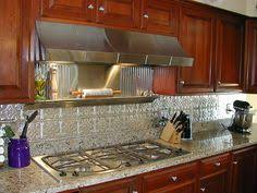 Pictures Of Stainless Steel Backsplashes by Peel And Stick Backsplash Ideas For Your Kitchen Backsplash