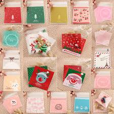 candy bags 100pcs christmas cookie candy bags gift packaging bag alex nld