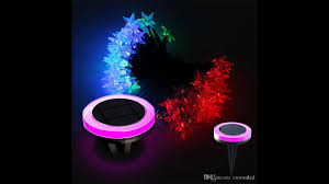 Christmas Lights Solar Powered by New Solar Lawn String Lights Outdoor Led Christmas Light Rgb