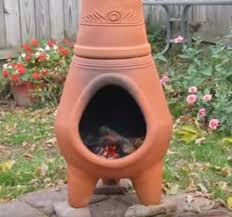 Chiminea Vs Fire Pit by Clay Chiminea Clay Chiminea Lowes Fire Pit Pics Pinterest