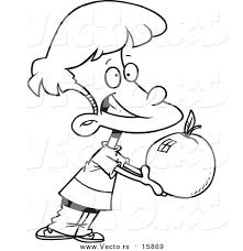 apple clipart boy with pencil and in color apple clipart boy with