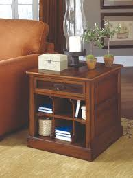 end tables design plan with teak wood frames and single drawers