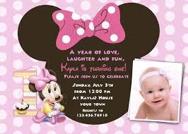 minnie mouse birthday invitation badbrya com