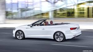 convertible audi white 2018 audi a5 cabriolet color glacier white side hd wallpaper 4
