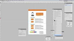 free graphic design resume template youtube