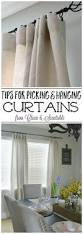 How To Hang A Canvas Best 25 Hang Curtains Ideas On Pinterest Cheap Window