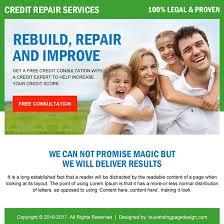 credit repair free consultation ppv landing page design credit