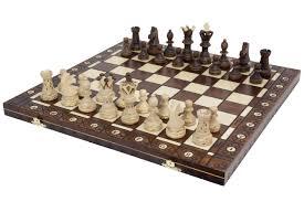 wegiel wegiel ambassador chess set 4 5 in king wood sets