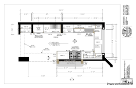 restaurant kitchen floor plan layout