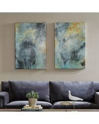 Wall Art Sets For Living Room Surprise 50 Off Madison Park Tranquility Gel Coat Canvas 2 Pc