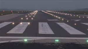 solar powered runway lights runway lighting dewitec gmbh airport technology