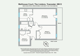 Easton Neston Floor Plan 2 Bedroom Apartment For Sale In Malthouse Court The Lindens