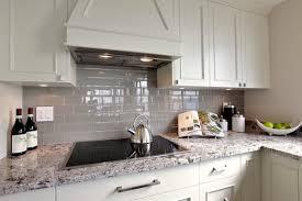 Glass Tile Backsplash With White Cabinets Hi I Love The White Cabinets And Especially The Grey Backsplash