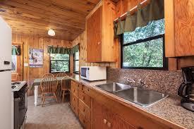 rustic cabin 6 idyllwild inn cabin 6 kitchen