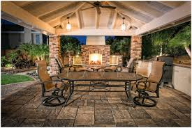 Stone Paver Patio Ideas by Backyards Bright Concrete Paver Patio Designs Cool Ideas Green