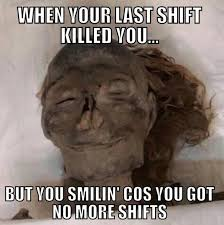 Night Shift Memes - props to getting through night shift with all your makeup on
