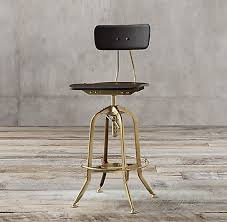 Restoration Hardware Bar Stool Enthralling All Bar Counter Stools Rh In Restoration Hardware