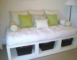 Bed With Drawers Underneath Daybed Furniture White Wooden Daybed With Drawers Underneath