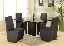 Glass Top Rectangular Dining Table Revamping Your Dining Room Sense Through Vogue Modern Tables