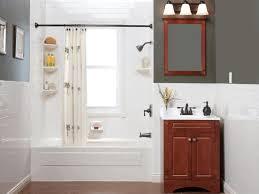 Bathroom Wall Baskets Bathroom Ideas Storage Smooth Gray Wall Paint Wood Parquet