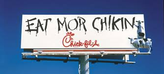 Kitchen Courtesy Signs 20th Anniversary Of The Eat Mor Chikin Cow Campaign Fil A