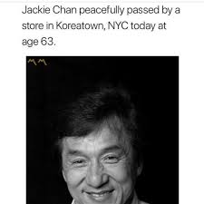 dopl3r com memes jackie chan peacefully passed by a store in