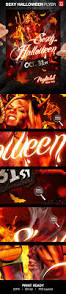 kids halloween party flyers halloween party flyer template on behance
