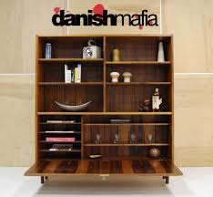 Modern Wall Units For Books Mid Century Danish Modern Rosewood Wall Unit Book Shelf Display