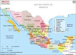 map of mexico cities political map of mexico features international boundary the